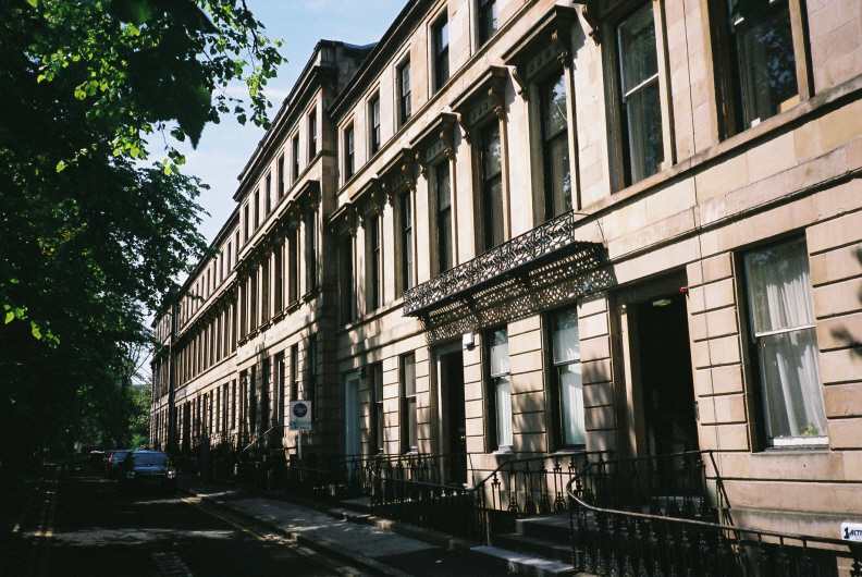 Southpark avenue numbers for 18 park terrace glasgow